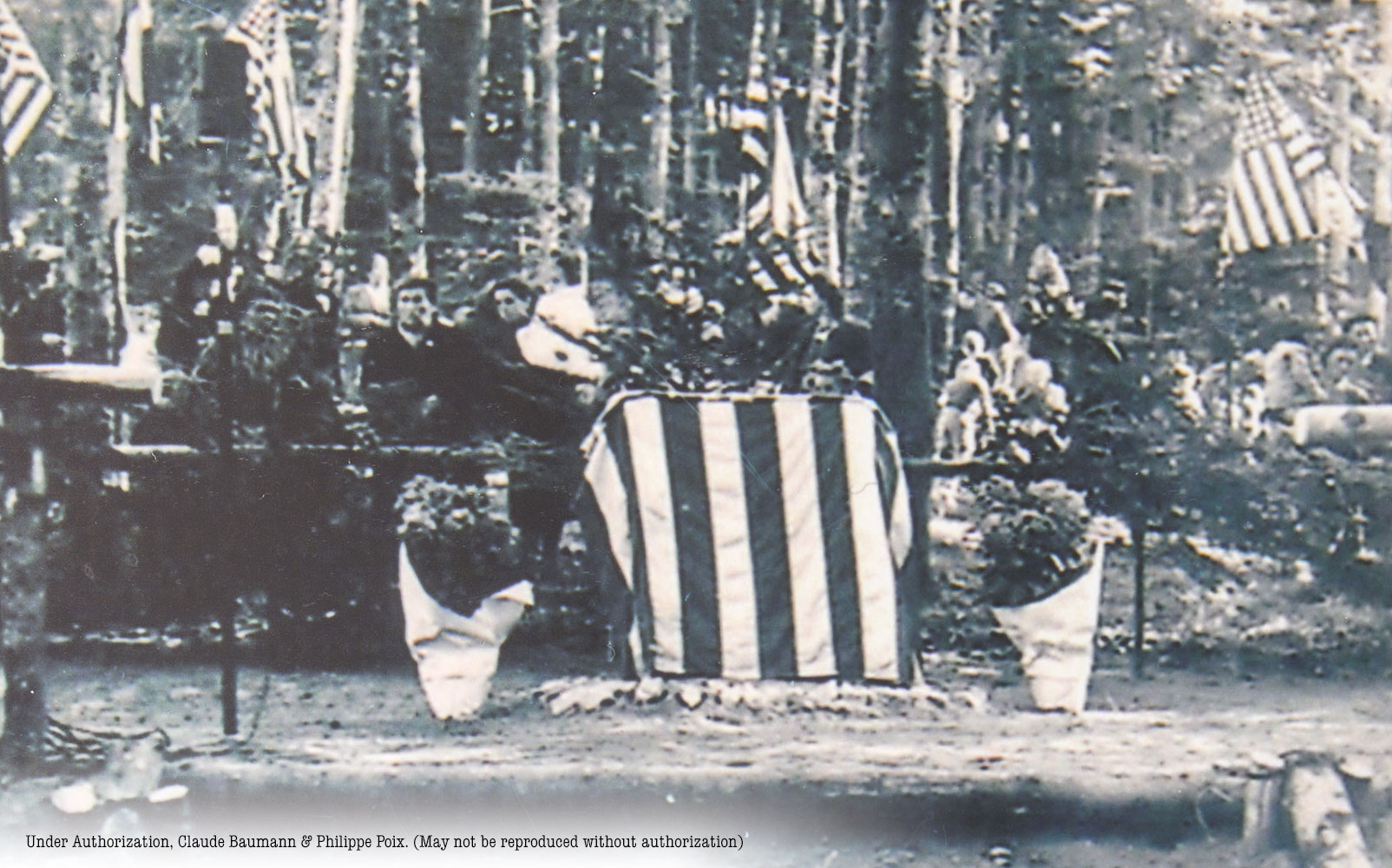 Dedication of the 1947 Monument to the 100/442 RCT