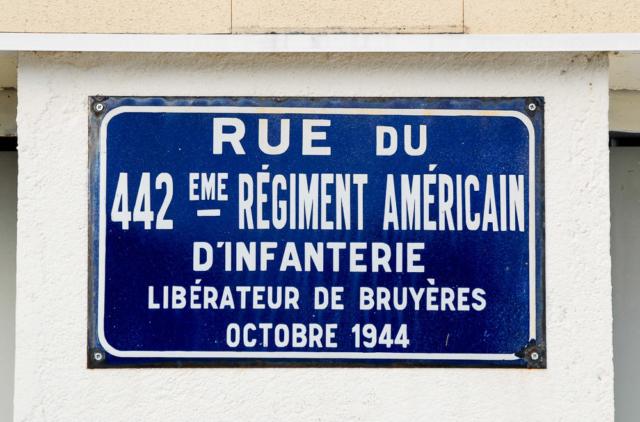 Rue Du 442 Street Named for Liberators