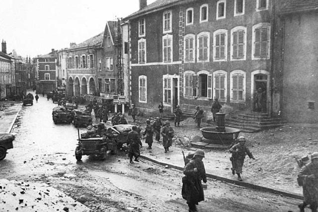 Bruyères 1944